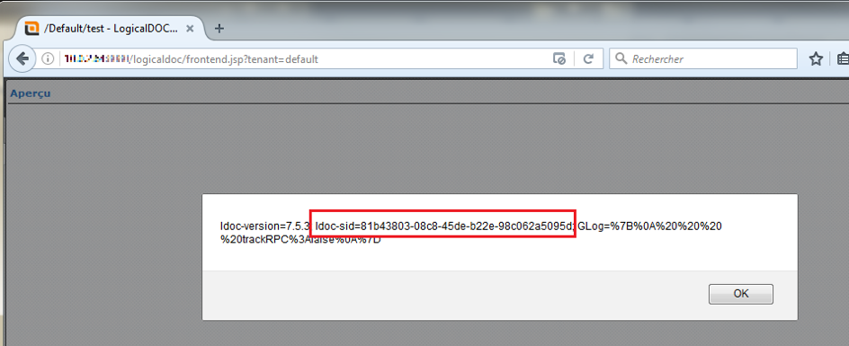 Image: LogicalDOC Stored XSS
