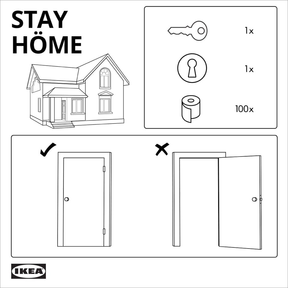 IKEA stay-at-home kit